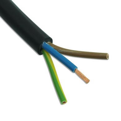 3 Core Mains Cable Rubber Jacket 7ZFO325