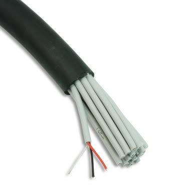 Mic Multicore Cable 16 Pair AES-EBU Black for DMX & Analogue 04007049