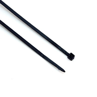 Pack of 100 x Black Cable Ties (140mm x 3.6mm) CBT002