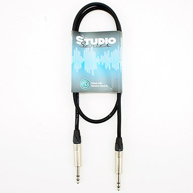 0.5M Balanced Line Cable Studio Series Jack - Jack LEBLC05