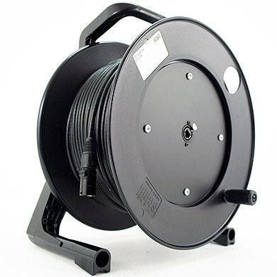 75M CAT5E Fixed Cable Reel Stealth Series