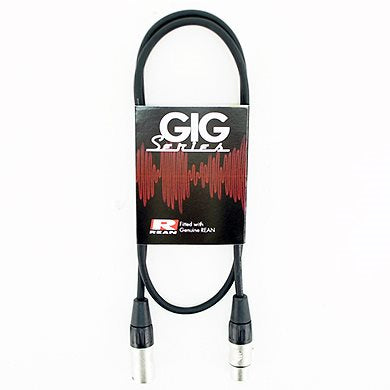 1M Mic Lead Balanced Gig Series RC3FX - RC3MX REAN/NEUTRIK NRA-031-0260-010