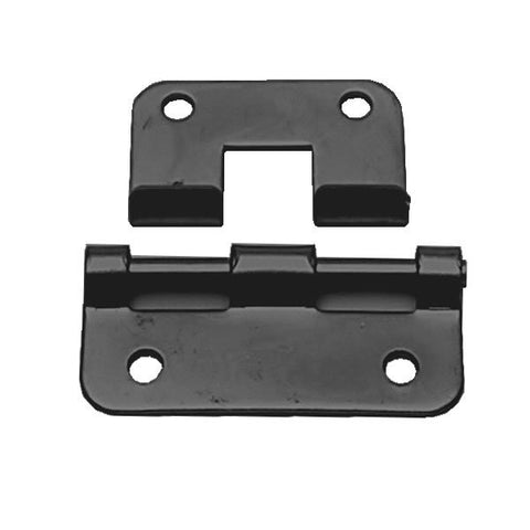 Black Lift-Off Hinge 57mm wide P0625K