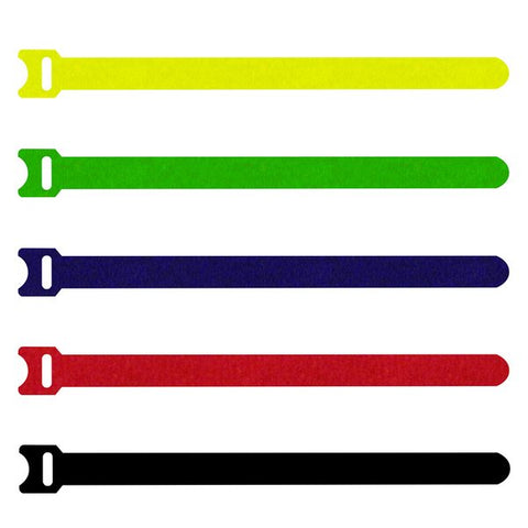 Hook & Loop Cable Tie Black 200mm T1513/200