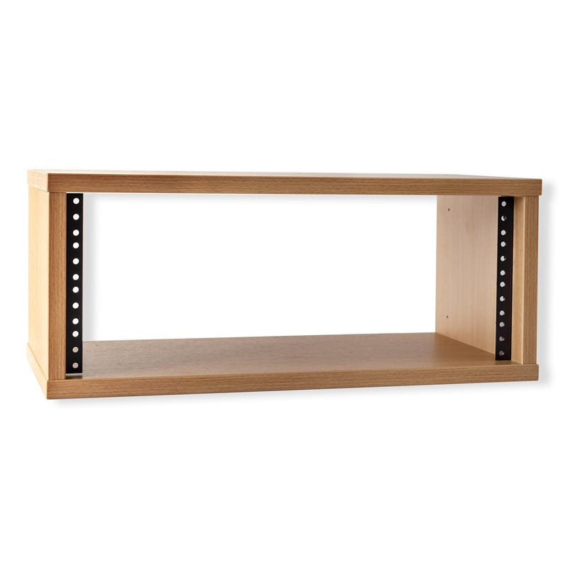 "1U Beech Effect Credenza Rack 250mm/9.84"" Deep R8600-250-1U"