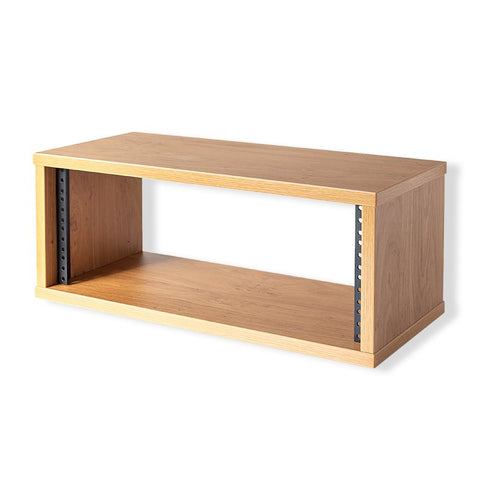 "12U Knotty Oak Effect Credenza Rack 470mm/18.5"" Deep R8600-450-12U-K"