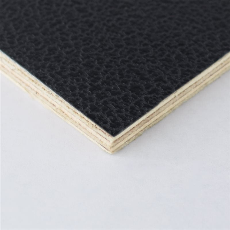 "8x4' Black Laminated Plywood Panel - Thickness: 6.5mm (1/4"") M876006"