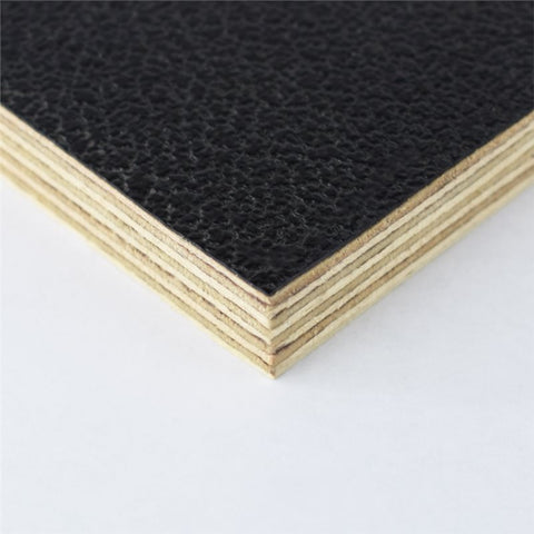 "8x4' Black Laminated Plywood Panel - Thickness: 12mm (1/2"") M876012"