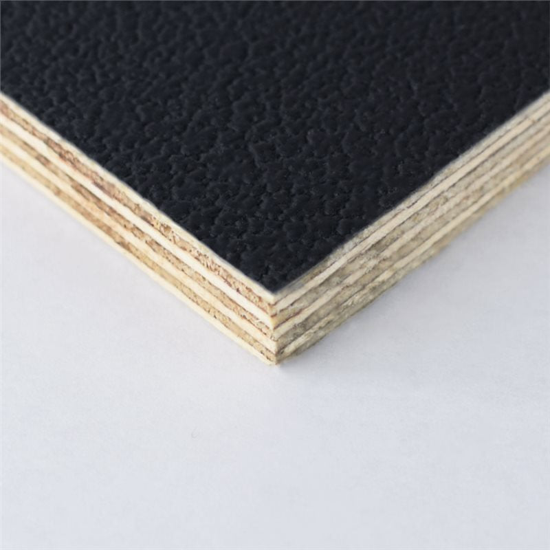 "8x4' Black Laminated Plywood Panel - Thickness: 9mm (3/8"") M876009"