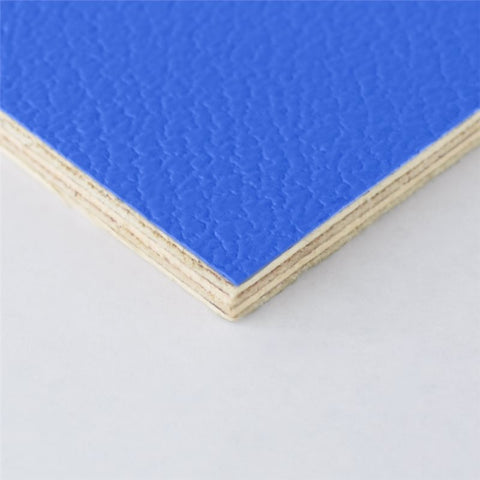 "8x4' Blue Laminated Plywood Panel - Thickness: 6.5mm (1/4"") M876106"