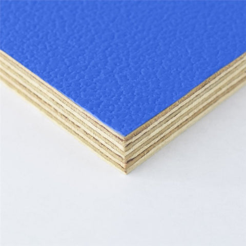 "8x4' Blue Laminated Plywood Panel - Thickness: 12mm (1/2"") M876112"