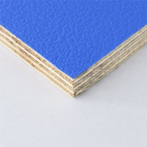"8x4' Blue Laminated Plywood Panel - Thickness: 9mm (3/8"") M876109"