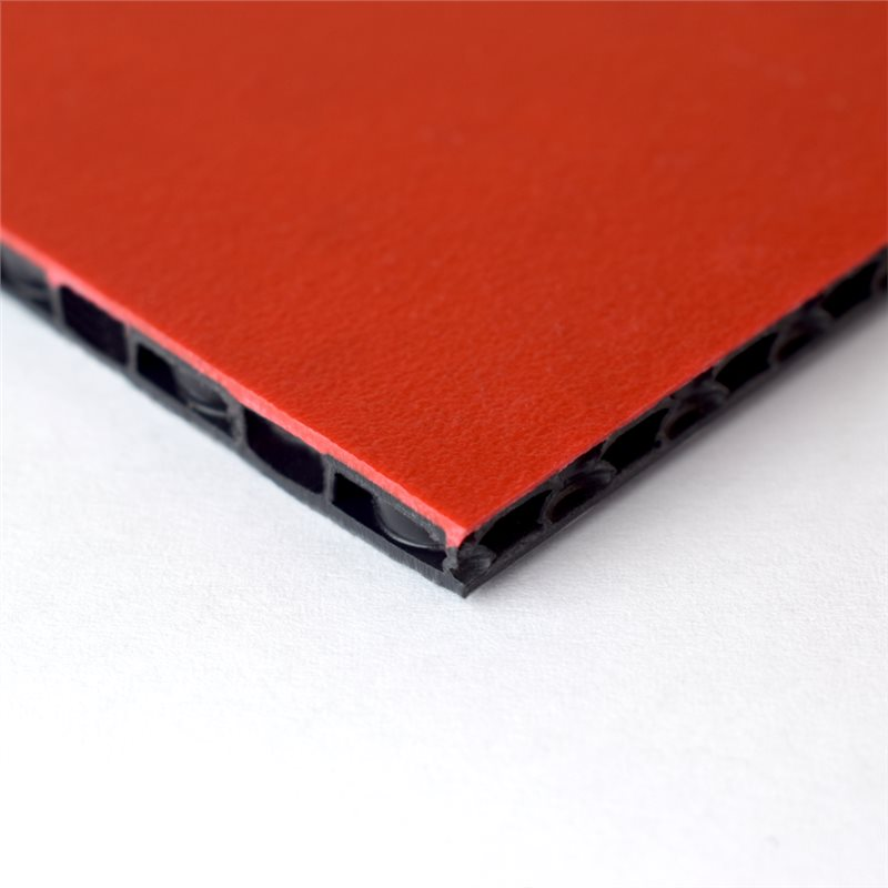 "FLight Panel 7'7"" x 5'2"" Red Composite Panel - Thickness: 7mm (1/4"") M865307"