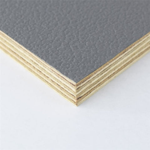 "8x4' Grey Laminated Plywood Panel - Thickness: 12mm (1/2"") M876212"