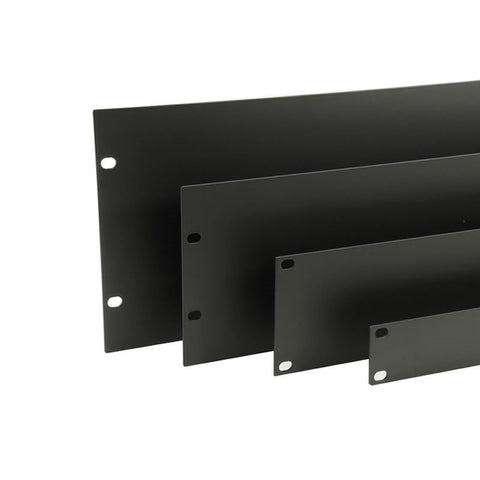 1U Rack Panel Black R1285/1UK