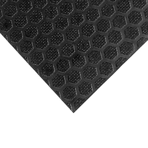 "High Quality Birch With Black Hexa Pattern 6mm/14"" M847108"