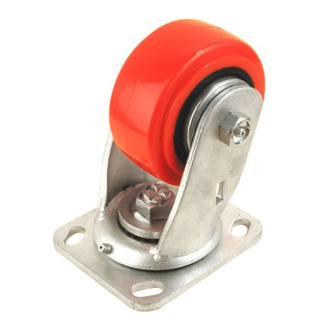 "4"" X 2"" Heavy Duty Caster 700 Lbs Swivel Red 8408HD"