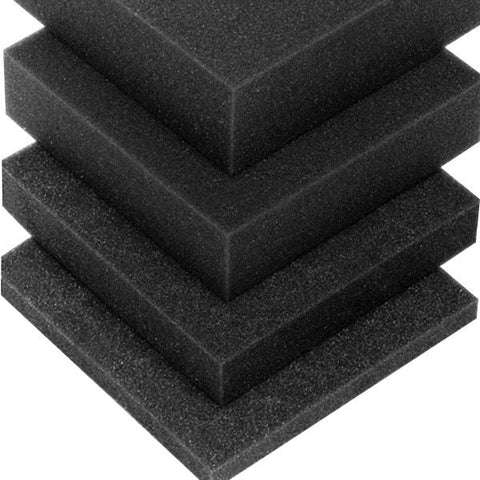 Foam - Black  2400mm x 1200mm x 10mm M63810