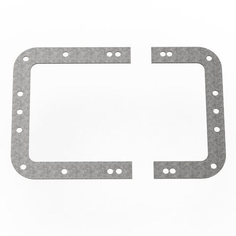 Backplate for Large Recessed Latches L0526