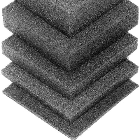 Plank Foam Charcoal Rigid for shock mount 2743mm x 610mm x 25mm ( 1in) M62925