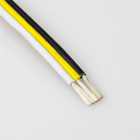 Led 3 Core Flat Cable 20awg Stranded Copper CA3F20
