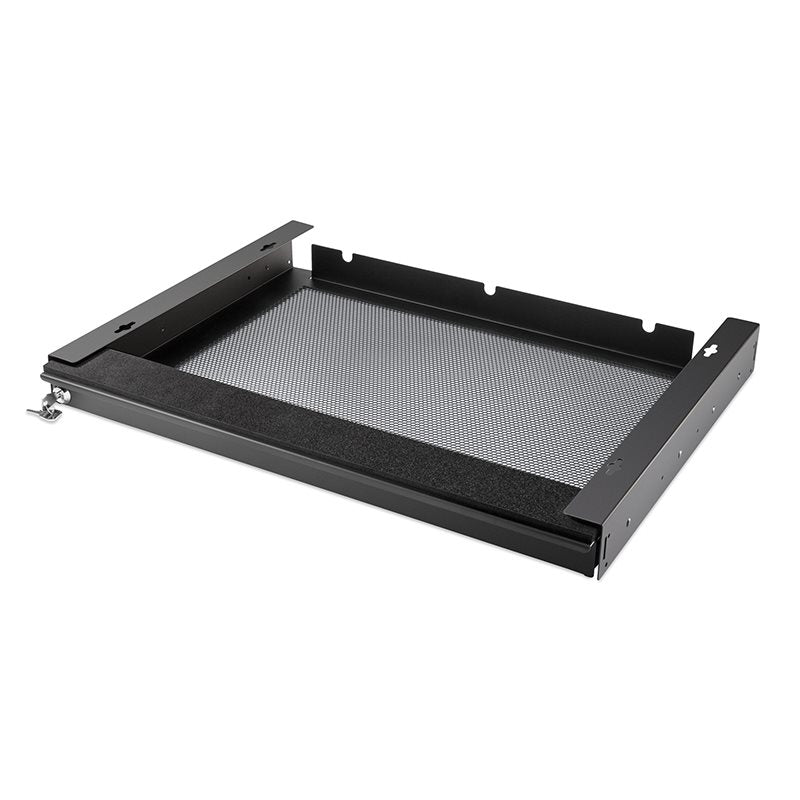 "Laptop Security Drawer 550mm/21.65"" Black EX-6171B"