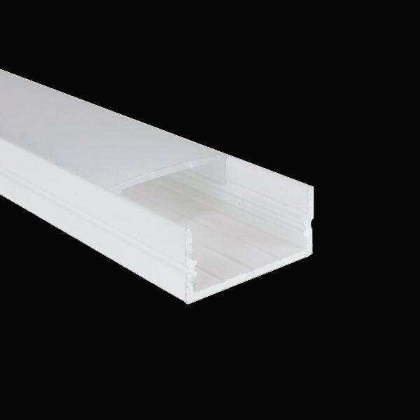 2m White Kit 20.6mm Wide Aluminium Profile LEDAL21M2W