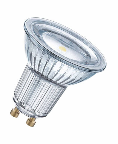 Led Glass Gu10 120deg 4.3w 27k 4052899958111