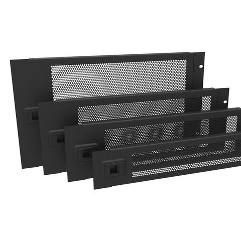 3U Hinged Vented Rack Panel R1372/3UVK