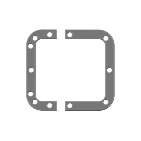Backplate for Medium Recessed Latches L0906