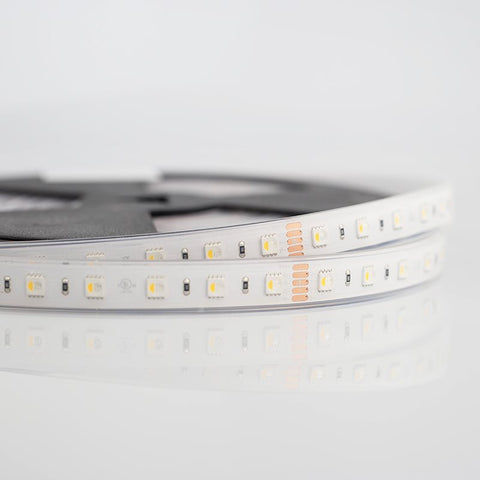 Led strip Rgbw 24v Ip66 19.2W with Warm White LEDCL192RGBW27P66