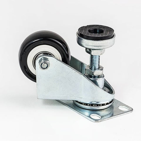 "50mm / 1.97"" castor with adjuster foot W0950"