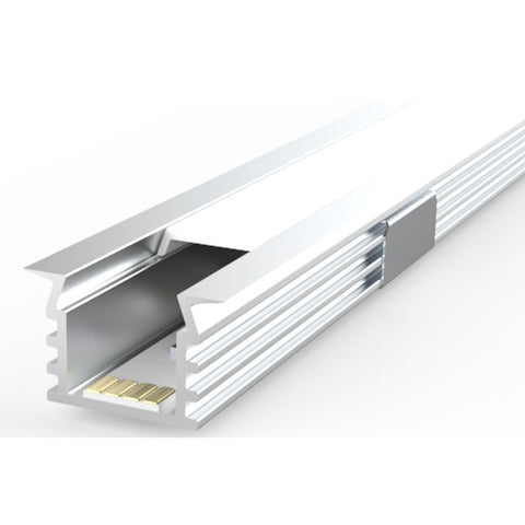 1m Kit 16mm wide Recessed Fluted Profile LEDAL39
