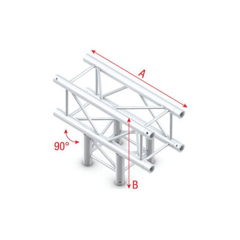 MILOS T-CROSS 3-WAY Pro-30 Square F Truss