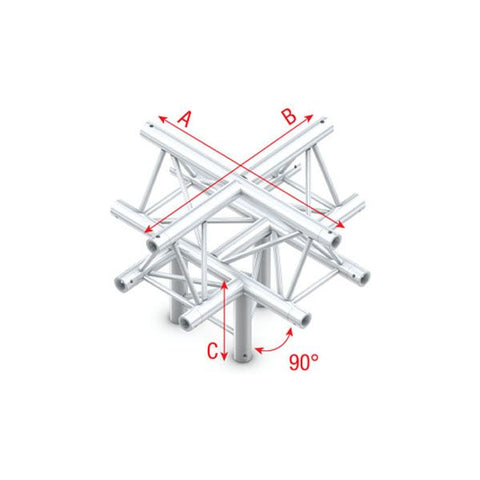 MILOS CROSS + DOWN 5-WAY, APEX UP Pro-30 Triangle F Truss