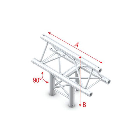 MILOS T-CROSS VERTICAL 3-WAY, APEX UP Pro-30 Triangle F Truss