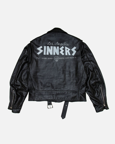 SINNERS GANG LEATHER JACKET