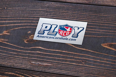 "ACO ""PLAY"" Sticker"