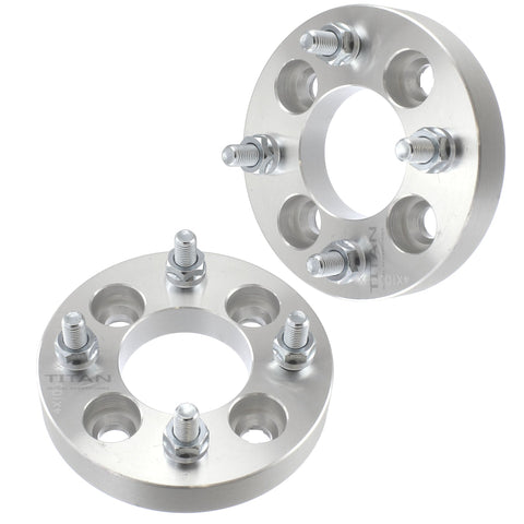 "(2) 1.25"" 4x114.3 (4x4.5) Wheel Spacers for Acura Honda Toyota Mitsubishi Kia (12x1.5) 32mm"