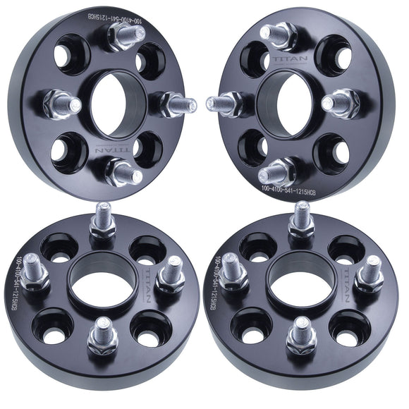 (4) 25mm Hubcentric 4x100 Wheel Spacers for Mazda Miata Scion xA xB Toyota MR2 Celica 54.1mm