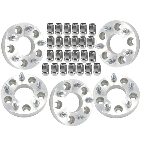 "(5) 1"" Jeep Wrangler Wheel Adapters 