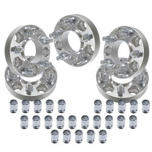 "(5) 1"" Jeep Wrangler Hubcentric Wheel Adapters 