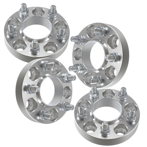 "(4) 1.25"" (32mm) Wheel Adapters 5x100 to 5x100  Hubcentric for Subaru Scion 5 Lug Models"