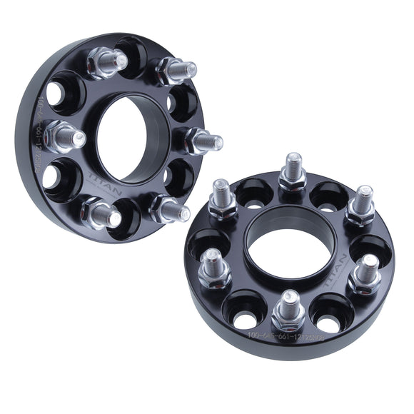 Set of 2 | 25mm 6x4.5 Hubcentric Wheel Spacers | For Nissan Frontier Pathfinder Xterra 6 Lug 6x114.3