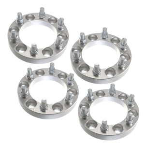 "USED (4) 1"" Chevy  GMC 6x5.5 (6x139.7) Wheel Spacers 14x1.5 studs for Cadillac Chevy GMC Trucks SUV Van"