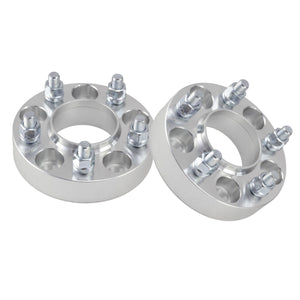 "2pcs 32mm ( 1.25"" ) Chevy  5x4.75 Hubcentric Wheel Spacers (66.9mm Hub) fits Camaro LS LT SS 1LE Z28 Performance Billet"