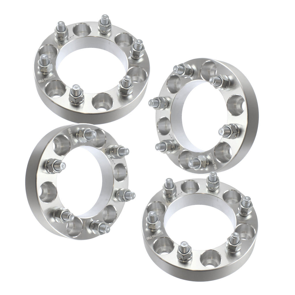 32mm 6x139.7 Wheel Spacers | 4pcs | For Isuzu Rodeo Trooper Toyota 4 Runner FJ Cruiser Pickup 6 Lug 1.25""