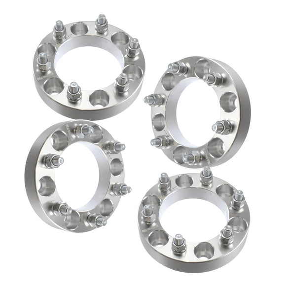 32mm 6x139.7 Wheel Spacers | 4pcs | For Isuzu Rodeo Trooper Toyota 4 Runner FJ Cruiser Pickup 6 Lug 1.25
