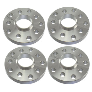 (4) .8 (20mm) Hubcentric Wheel Spacers 5x100 or 5x112  Hubcentric 57.1mm Hub for VW Audi 5 Lug Models | Titan Wheel Accessories