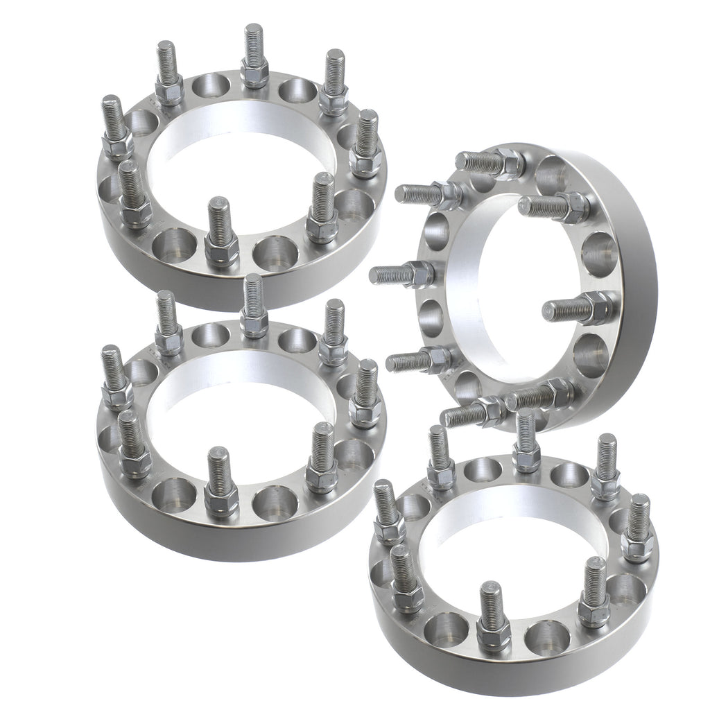 4pcs  8x6.5 Wheel Spacers | 8 Lug Fits Ford F250 F350 Heavy Duty Trucks Pickup 8 on 6.5